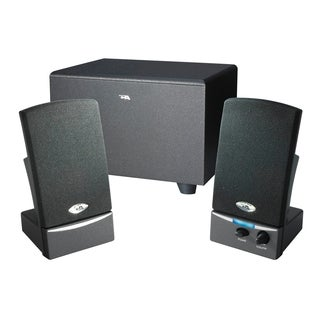 Cyber Acoustics CA-3001 2.1 Speaker System - 8.5 W RMS - Black