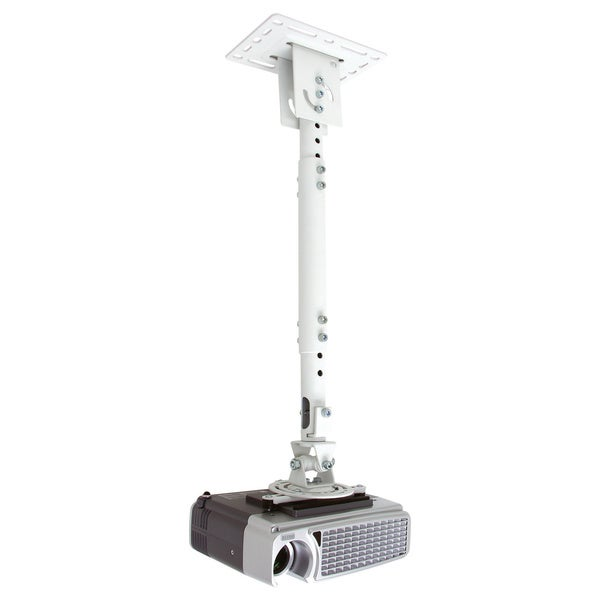 Telehook TH-WH-PJ-CM Universal Projector Ceiling Adjustable Pole Moun
