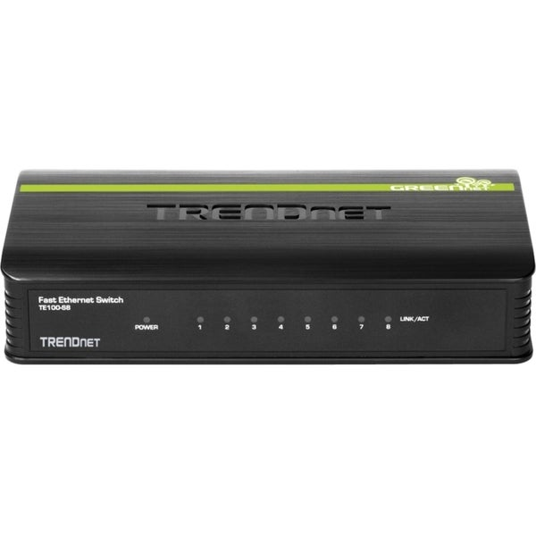 TRENDnet TE100-S8 8-port Fast Ethernet Switch
