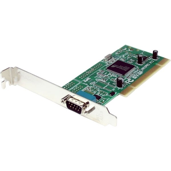 StarTech.com 1 Port PCI RS232 Serial Adapter Card w/ 16950 UART - Dua