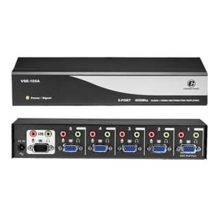 Connectpro VSE-105A, 5-port 400MHz Video/Audio Splitter