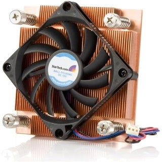 StarTech.com 1U Low Profile 70mm Socket 775 CPU Cooler Fan w/ Heatsin