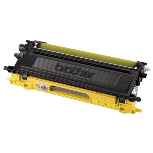 Brother TN115Y High Yield Yellow Toner Cartridge