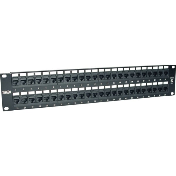Tripp Lite 48-Port 2U Rackmount Cat5e 110 Patch Panel