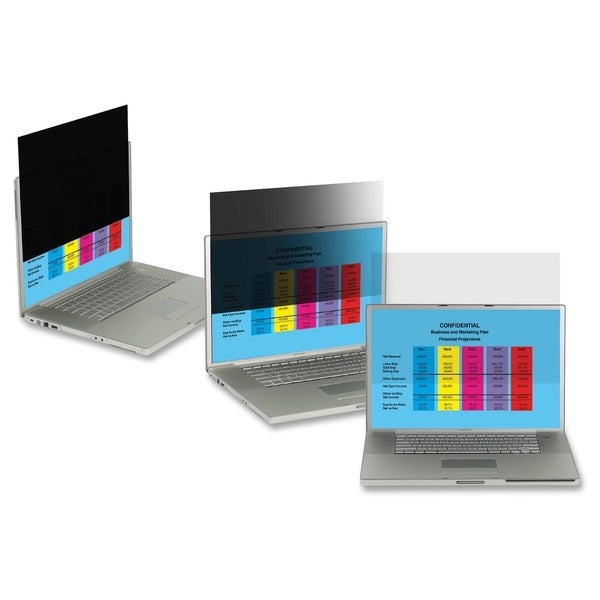 """3M PF17.0 Privacy Filter for Desktop LCD Monitor 17.0"""" Clear"""