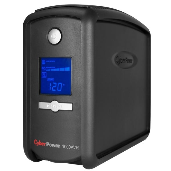 CyberPower Intelligent LCD CP1000AVRLCD 1000VA Tower UPS
