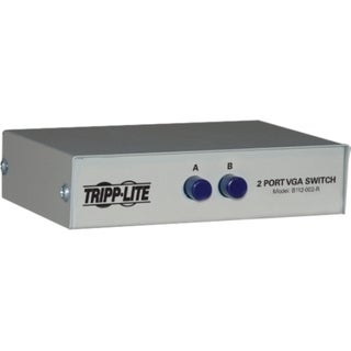 Tripp Lite 2-Port VGA Switch, Manual (3x HD15F)