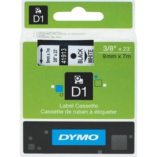 Dymo Black on White D1 Label Tape