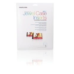 Memorex Jewel Case Insert