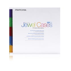Memorex CD/DVD Jewel Cases