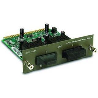 D-Link DES-102F - 2-Port 100BASE-FX Fiber Module