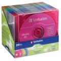 Verbatim 94300 CD Rewritable Media - CD-RW - 4x - 700 MB - 20 Pack Sl