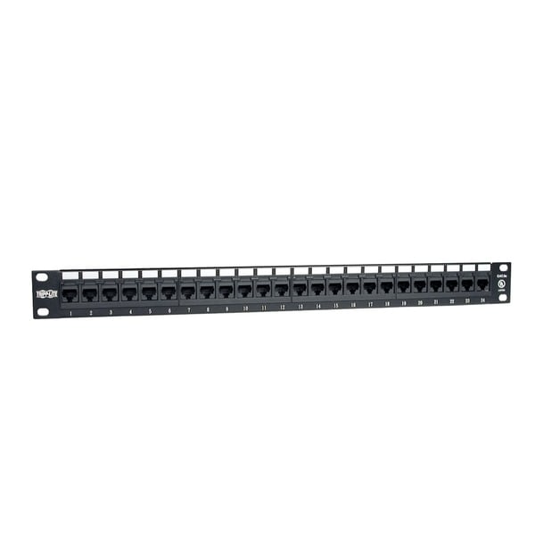 Tripp Lite 24-Port 1U Rackmount Cat5e 110 Patch Panel