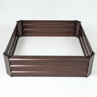 Metal Square Garden Bed