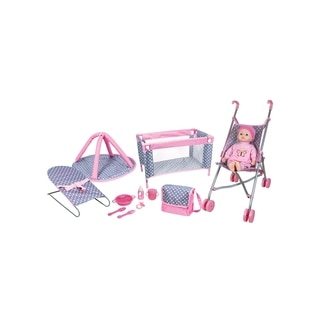 Lissi 5 Piece Play Set with Baby Doll and accessories