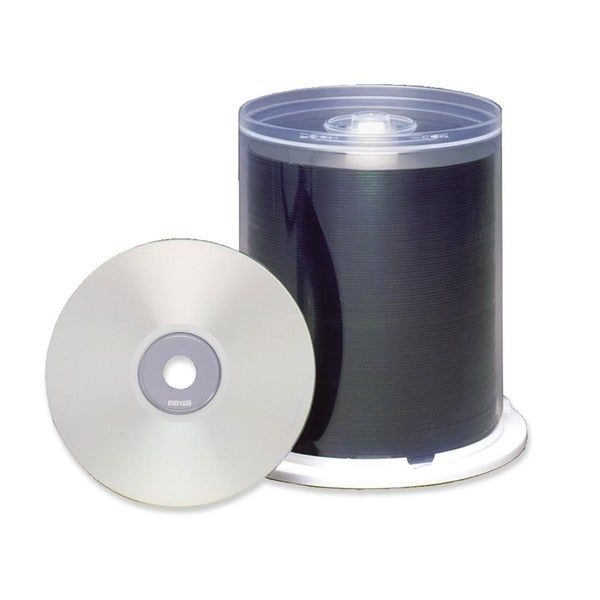 Maxell CD Recordable Media - CD-R - 48x - 700 MB - 100 Pack Spindle -