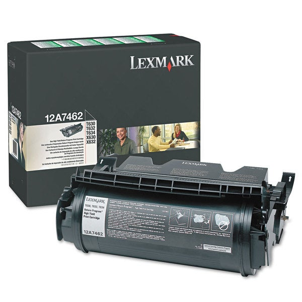 Lexmark Black Toner Cartridge for Inkjet Printers