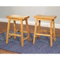 Belfast 24-inch Saddle Stool (Case of 2)