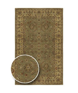 Hand-Tufted Camelot Collection Traditional Wool Rug (2'6