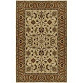 Hand-tufted Beige Wool Rug (2'6 x 8')