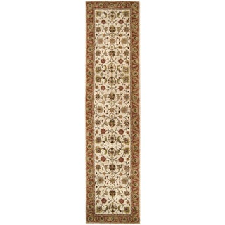 Hand-tufted Camelot Collection Wool Rug (3' x 12')