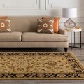 Traditional Hand-Tufted Camelot Collection Wool Rug (3' x 12')