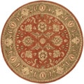 Hand-tufted Camelot Collection Wool Rug (8' Round)
