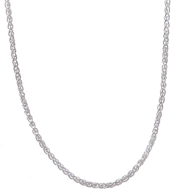 Sterling Essentials Sterling Silver 24-inch Italian Wheat Chain (1.5mm)