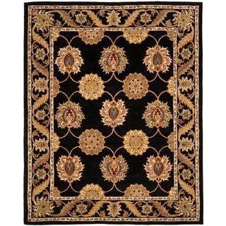 Safavieh Handmade Heritage Mahal Black Wool Rug (9'6 x 13'6)