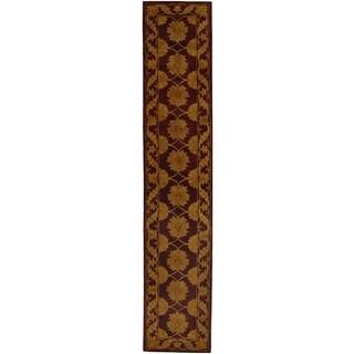 Safavieh Handmade Heritage Mahal Red Wool Runner (2'3 x 10')