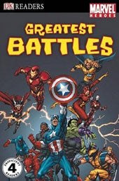 Marvel Heroes Greatest Battles (Paperback)