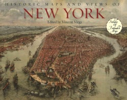 Historic Maps and Views of New York: Includes Frameable Maps and Views (Paperback)