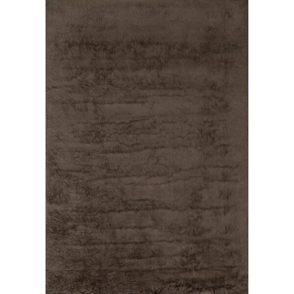 Nourison Encore Chocolate Mint Rug (5'6 x 7'5)