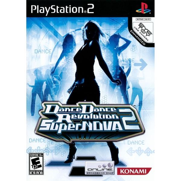 PS2 - Dance Dance Revolution Supernova 2