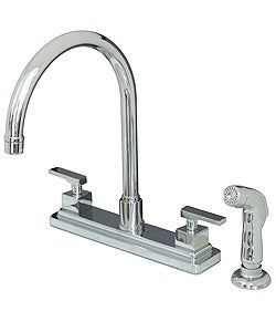 Executive Chrome Faucet with Sprayer