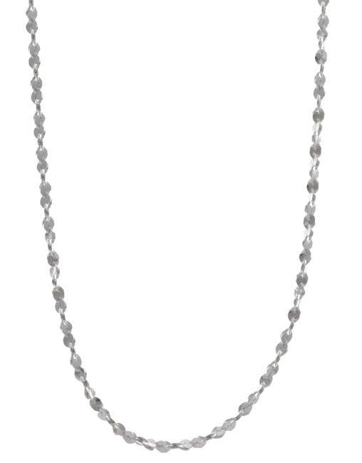 Sterling Essentials Sterling Silver 1.5mm Twist Serpentine Necklace (16-inch)