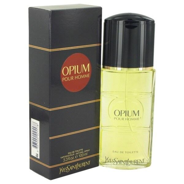 Opium Men's 3.4-ounce Eau de Toilette Spray