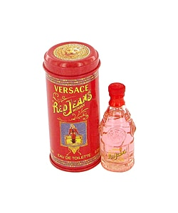 Red Jeans by Versace Women's .25-ounce Mini Eau de Toilette Spray