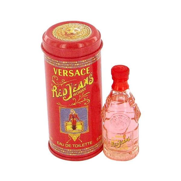Red Jeans by Versace Women's .25-ounce Mini Eau de Toilette Spray