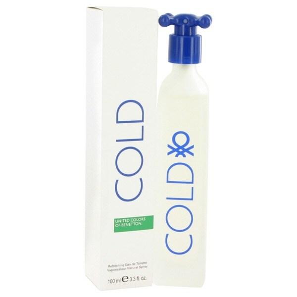 Benetton Cold Unisex 3.4-ounce Eau de Toilette Spray