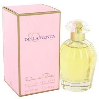So De La Renta Women's 3.4-ounce Eau de Toilette Spray