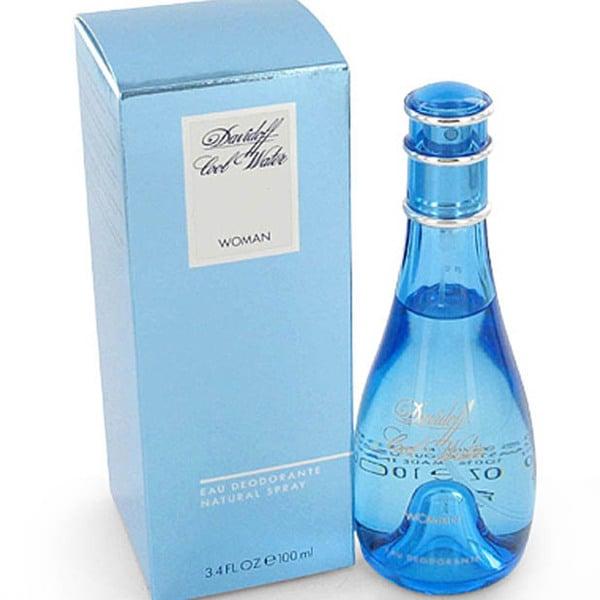 Davidoff Cool Water Women's 3.3-ounce Deodorant Spray