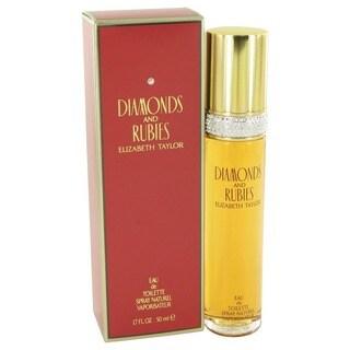 Diamonds & Rubies Women's 1.7-ounce Eau de Toilette Spray