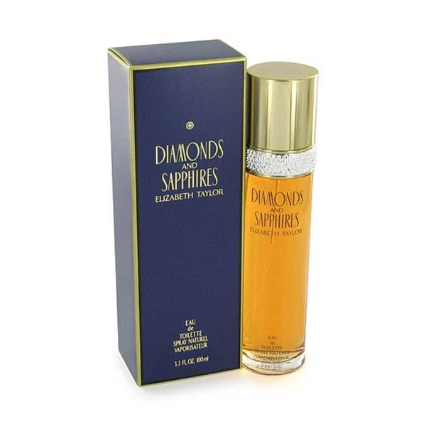 Elizabeth Taylor Diamonds and Sapphires Women's 3.4-ounce Eau de Toilette Spray