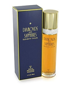 Elizabeth Taylor Diamonds-n-Sapphires Women's 1.7-ounce. Eau de Toilette Spray