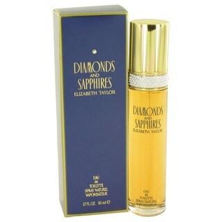 Elizabeth Taylor Diamondand Sapphires Women's 1.7-ounce Eau de Toilette Spray