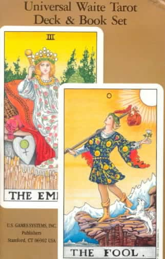 Universal Waite Tarot Deck and Book Set (Cards)