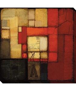 Albin Secret Letter II Gallery Wrapped Canvas Art