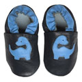 Papush Blue Dinosaurs Infant Shoes