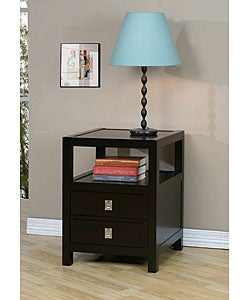 Norwich Two-drawer Side Table